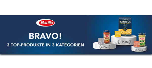Herzlichen Glückwunsch Barilla