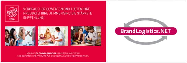 PRODUKT DES JAHRES – jetzt auch in Deutschland!