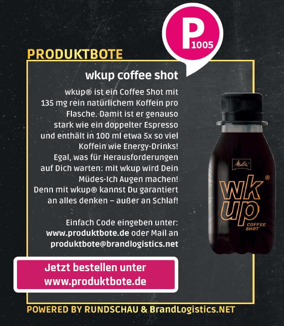 Beispiel: ProduktBote Anzeige Rundschau